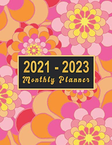 2021-2023 Monthly Planner: large see it bigger 3 year planner 2021-2023   Schedule Organizer - Agenda Plans For The Next Three Years, 36 Months ... women (3 year monthly planner 2021 2022 2023)