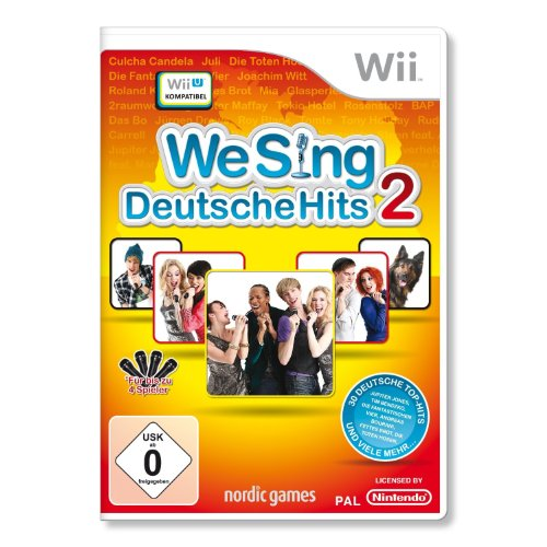 We Sing Deutsche Hits 2 (Standalone) - [Nintendo Wii]