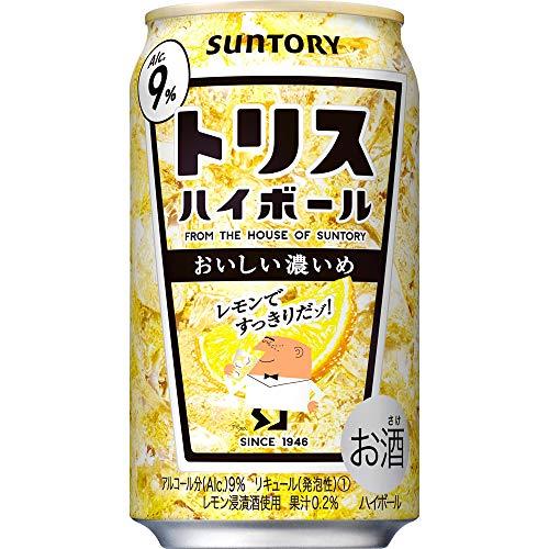 サントリー トリスハイボール 9% (キリッと濃いめ) [ ウイスキー 日本 350ml×24本 ]
