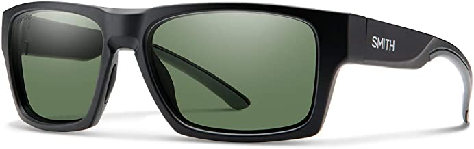 Smith Outlier 2 Rectangle Sunglasses For Men+FREE Complimentary Eyewear Care Kit
