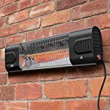 Harrier Wall Mounted Patio Heater - Energy Efficient Electric Infrared Heater for Wall Hanging | Quartz Electric Heater Creates a Warm & Relaxing Atmosphere