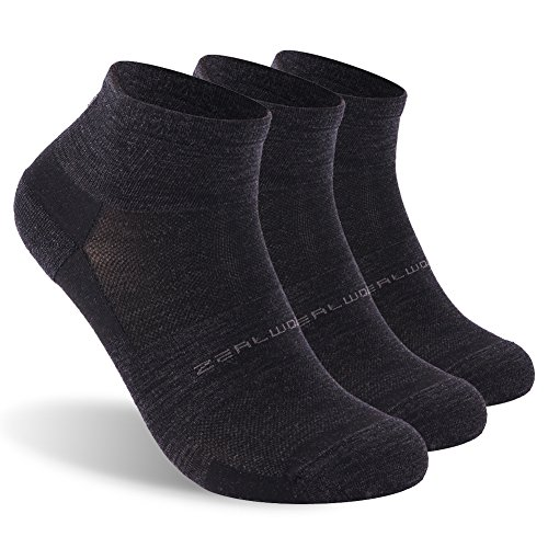 Zealwood No Show Athletic Socks