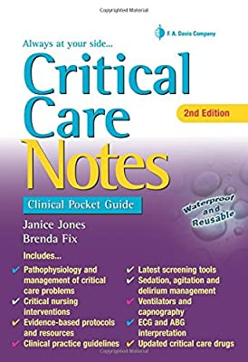 Critical Care Notes: Clinical Pocket Guide by F.A. Davis Company
