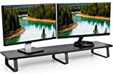 VIVO Black 39 inch Extra Long Monitor Riser - Wood...