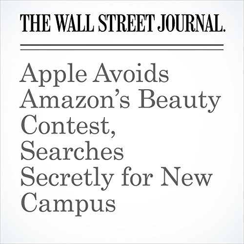 Apple Avoids Amazon's Beauty Contest, Searches Secretly for New Campus audiobook cover art