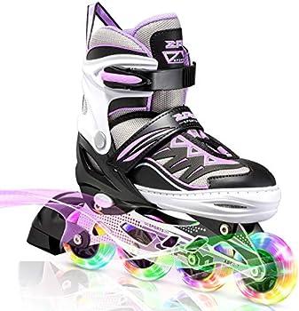 2PM Sports Girls' Illuminating Inline Skates