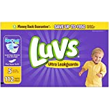 Luvs Ultra Leakguards Diapers - Size 5-112 ct