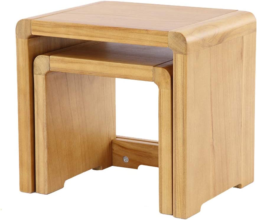 Cheap Home Solid Wood Fashion Square Ben Change Small Stool Shoe Regular dealer