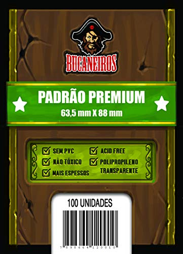 Sleeve Padrão Premium (63.5 x 88) - Bucaneiros Jogos