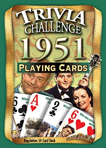 1951 Trivia Playing Cards