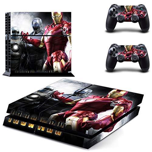 Vengadores Iron Man Ps4 pegatinas Play Station 4 piel pegatina juego calcomanías para Playstation 4 Ps4 consola y controlador pieles vinilo