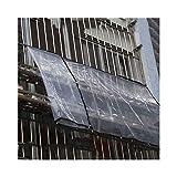 GGYMEI Lona Alquitranada Material Plástico A Prueba De Viento Casero Grueso De La Cubierta Plástica A Prueba De Lluvia Transparente del Balcón, 21 Tamaños (Color : Polyethylene, Size : 2x2.5m)