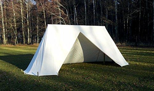 Mittelalterliches Normannen Zelt - tent Doppelglockenzelt Glockenzelt Sachsenzelt