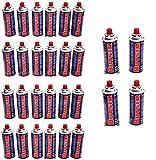 BUTSIR - Cartuchos de recarga de gas, 227 g – Paquete de 28 cartuchos de gas