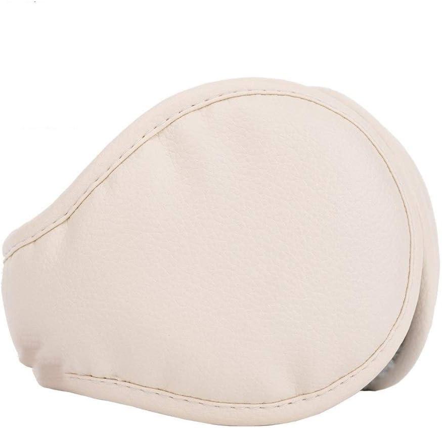ZYXLN-Earmuffs,Earmuffs for Women Earmuffs for Men Warm Earmuffs Couple Earmuffs Foldable and Stretchable Winter Outdoor Earmuffs Behind The Head Earmuffs (Color : Beige)