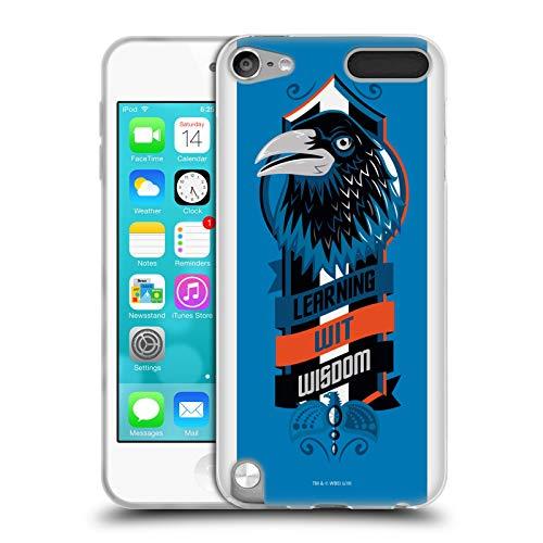 Head Case Designs Ufficiale Harry Potter Ravenclaw Deathly Hallows VI Cover in Morbido Gel Compatibile con Apple iPod Touch 5G 5th Gen