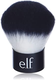 e.l.f., Kabuki Face Brush, Synthetic Haired, Versatile, Compact, Applies Bronzer, Powder, or Highlighter, Soft, Absorbent,...