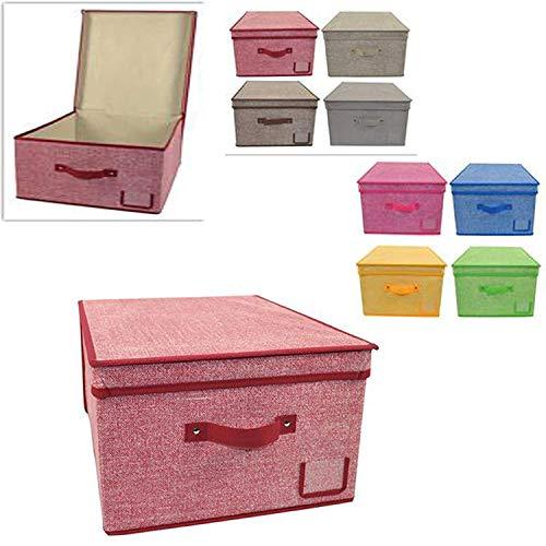 Bamboom 104-046-040 Store Box Soft Stone Organizers Rosa