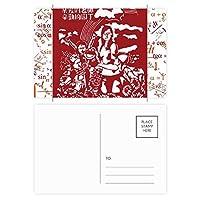 英国の英国国旗ユニオンジャックビッグ・ベン 公式ポストカードセットサンクスカード郵送側20個