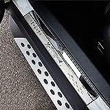 LIUWEI Garde de seuil Fit for X-Trail 2015 Xtrail T32 2014 2016 2017 2018 Sill Porte de Voitures Plaque Scuff Garniture Bienvenue Pédale Seuil Bar Autocollants Cover