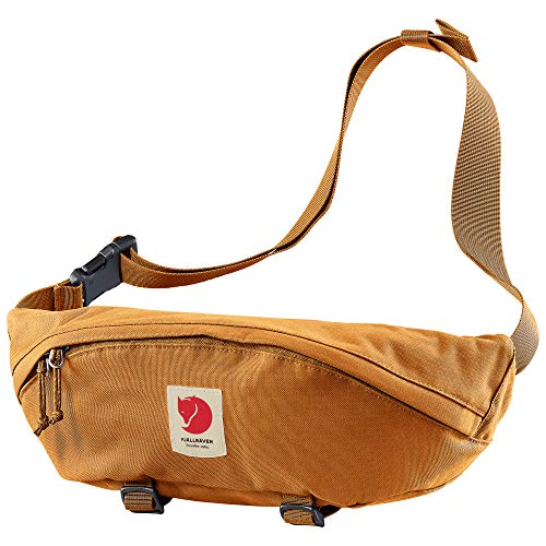 Fjallraven, Ulvo Hip Pack Large, Waterproof Fanny Pack for Everyday Use and Travel, Red Gold