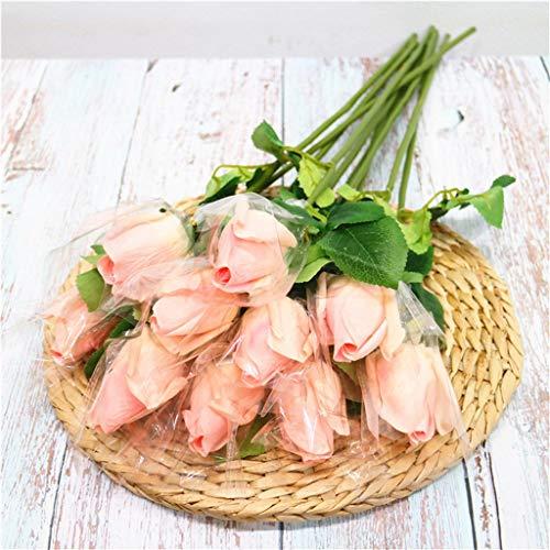 Celucke - Decoración para el hogar o la Oficina, diseño de Rosas, Tejido hidratante al Tacto, D, Tamaño Libre