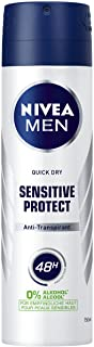 Nivea Men Sensitive Protect Dezodorant w Sprayu, 6 Sztuk (6 x 150 ml)