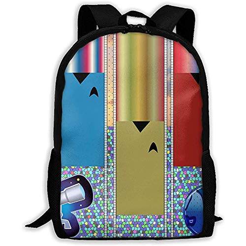 Kinderteleskope Art Pattern Unisex Adult Unique Rucksack, Schule Freizeit Sport Book Bags, Travel Daypacks