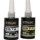 Sellador de rosca de tubo STALOC 5S77, resistencia...