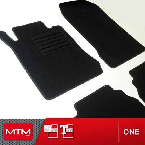 MTM Alfombrillas para Classe E (W210) 4-Matic Desde 1995-2001, a Medida en Velour Antideslizante One cod. 2020