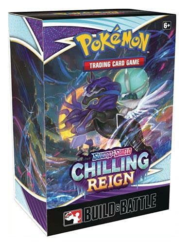 Pokemon Sword & Shield Chilling Reign Build and Battle Booster Kit