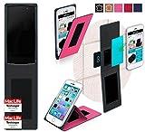 reboon Hülle für Alcatel Idol 4 Pro Tasche Cover Case Bumper | Pink | Testsieger