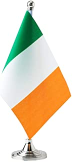 Best Ireland Flags Irish Table Desk Small Mini Flag Decorations Review