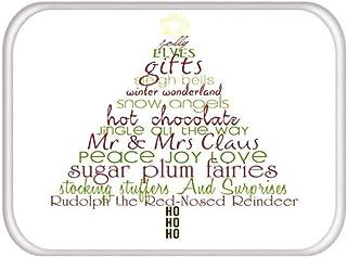 BIRSY Mat In Hallway Kitchen Rubber Doormat Merry Christmas Deer Welcome Home Decor Living Room Rug Anti-Slip Carpet,S, 18...