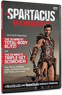 Spartacus Workout 2 DVD 30-minute Total Body Blitz & 29-minute Triple-set Scorcher