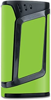 MightySkins Skin Compatible with Smok Alien 220W TC - Solid Lime Green | Protective, Durable, and Unique Vinyl Decal wrap Cover | Easy to Apply, Remove, and Change Styles | Made in The USA