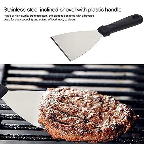 51Kl3z4vR0S. SL500  - Spatel-Set Grillzubehör BBQ Tool Kit - Hochleistungs-Edelstahl-Spatel-Grill-Set in professioneller Qualität - ideal zum Kochen von Camping und Heckklappen