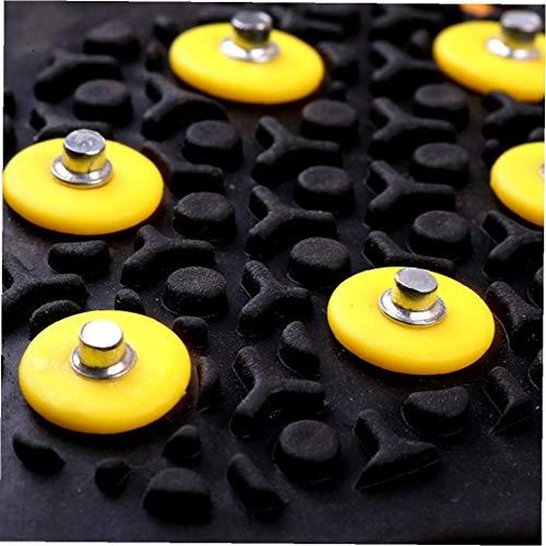 NIDONE 10pcs / Pack Antipatinaje Nieve Hielo Apretones Stud Crampón Spikes Duraderos Apretones Pinzas Crampón Grapas De Accesorios De Repuesto para Invierno Aire Libre Senderismo Escalada