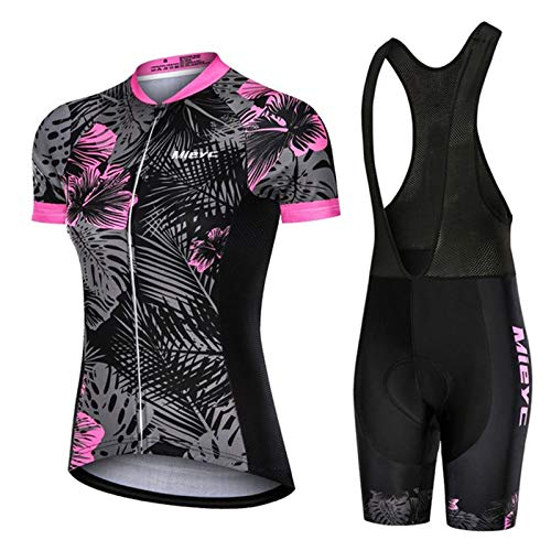 WPW Conjunto de Maillot de Ciclismo para Mujer, Ropa de Bicicleta de...