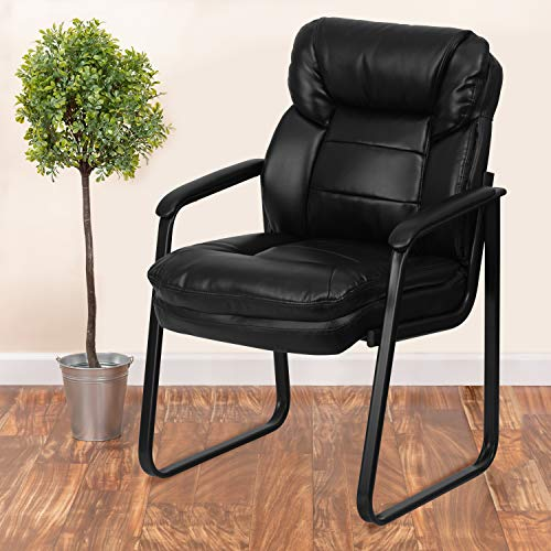 Flash Furniture Leather Executive Reception Chair