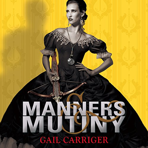 Manners and Mutiny                   By:                                                                                                                                 Gail Carriger                               Narrated by:                                                                                                                                 Moira Quirk                      Length: 9 hrs and 53 mins     97 ratings     Overall 4.7