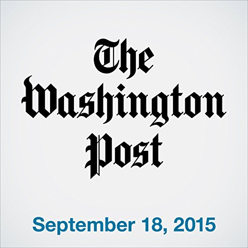 Top Stories Daily from The Washington Post, September 18, 2015 copertina