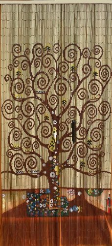ABeadedCurtain 125 String Tree of Life Beaded Curtain 38% More Strands Handmade with 4000 Beads (+Hanging Hardware)