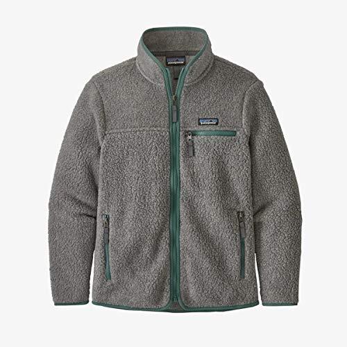Patagonia W's Retro Pile Jkt Damenjacke XL Grau (Salt Grey)