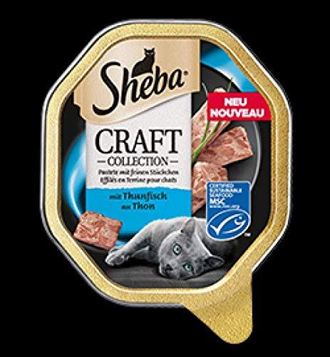 Mars Katze Sheba Schale Craft feine Pastete mit Thunfisch 85g (Menge: 22 je Bestelleinheit)