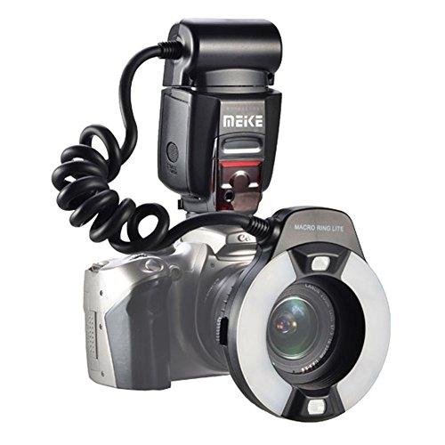 Meike MK-14EXT iTTL TTL LED Makro Ring Blitzlicht für Nikon D4 D800 D5200 D7100 DSLR Kamera mit Hot Shoe Mount