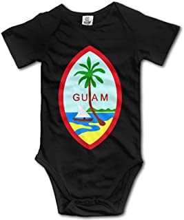 ZZHZMH Guam Summer Island Unisex Boys Girls Baby Onesie s Organic