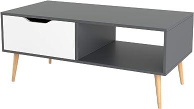Homfa Mesa de Centro Mesa de café Mesa para TV Mesa para