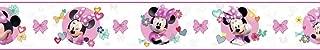 York Wallcoverings Kids III Disney Minnie Mouse Border, Whites