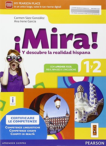 Mira! Niveles 1 y 2. Con e--bok. Per la Scuola media. Con espansione online (Vol. 1)